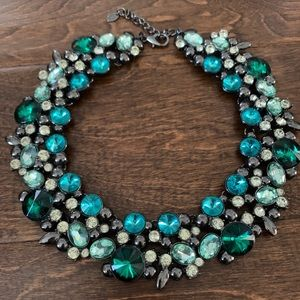 ZARA Stunning Jeweled Statement Necklace